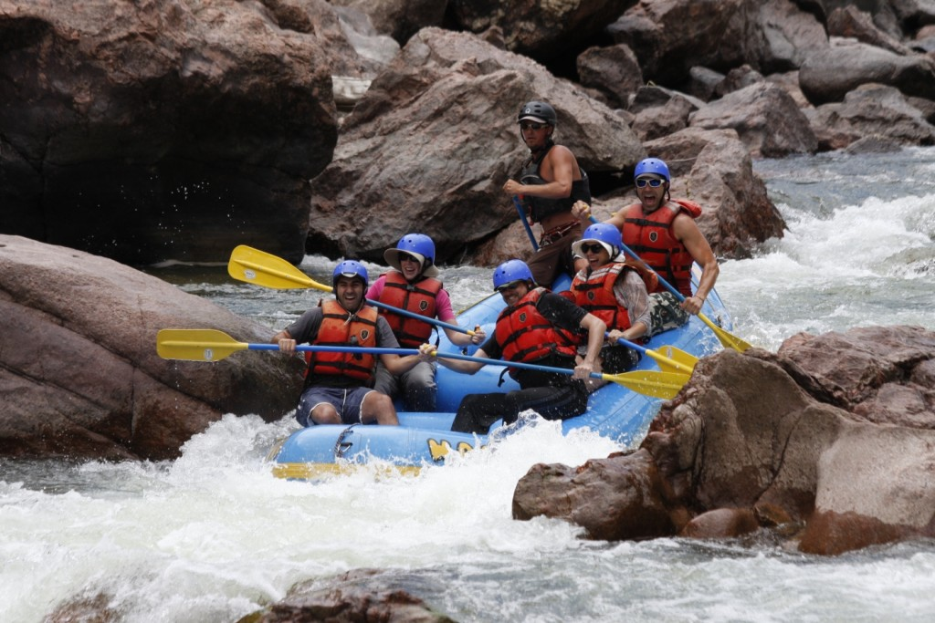 River Rafting in The Royal Gorge, Colorado