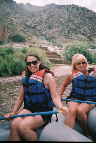 You don't have to wear a dorky helmet in Bighorn Sheep Canyon.