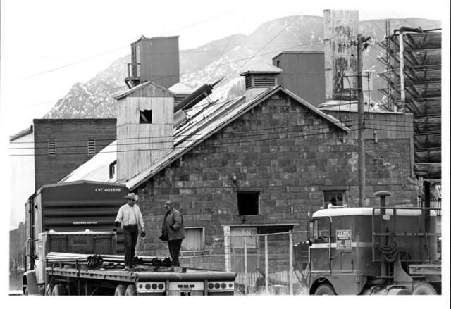 Union Ice and Coal building, circa 1972, downtown Colorado Springs