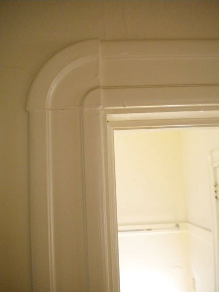 Interesting art deco style trim.