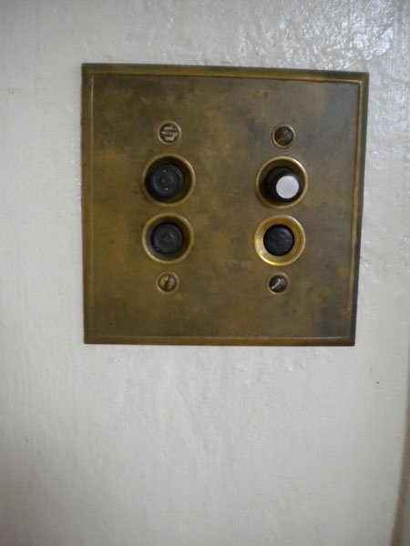 There are even a few of these push button light switches.