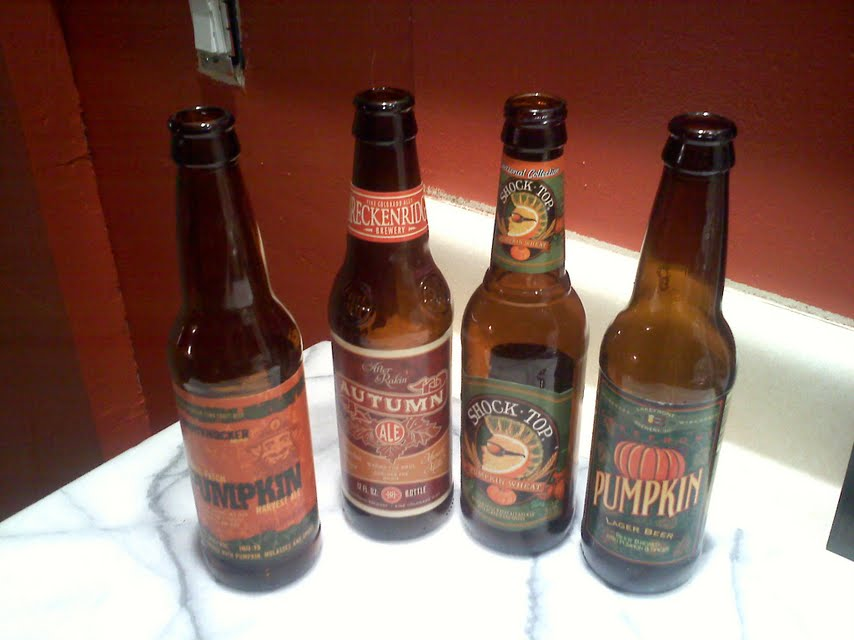 Seasonal beer dropped off unexpectedly by my mom for no reason at all.