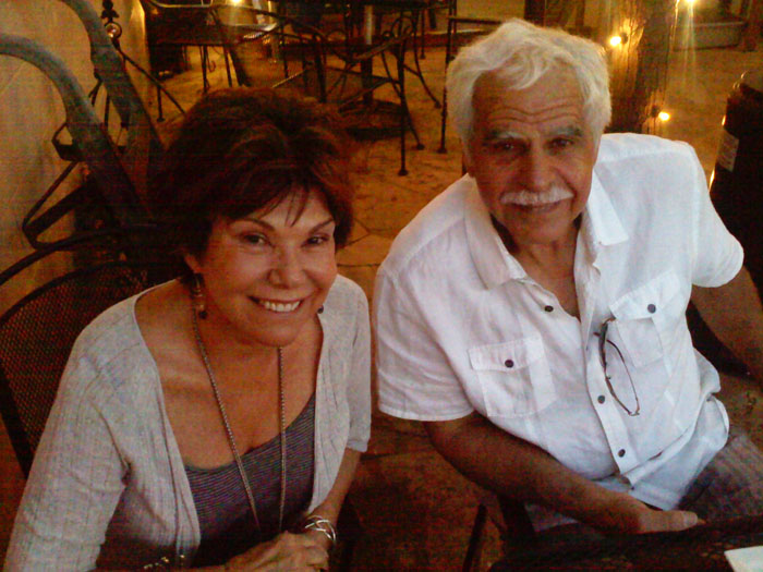 My parents came in early June. Here they are at Pizzeria Rustica.