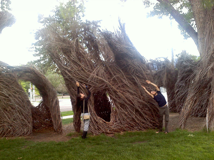 And at the art installation at Colorado College.