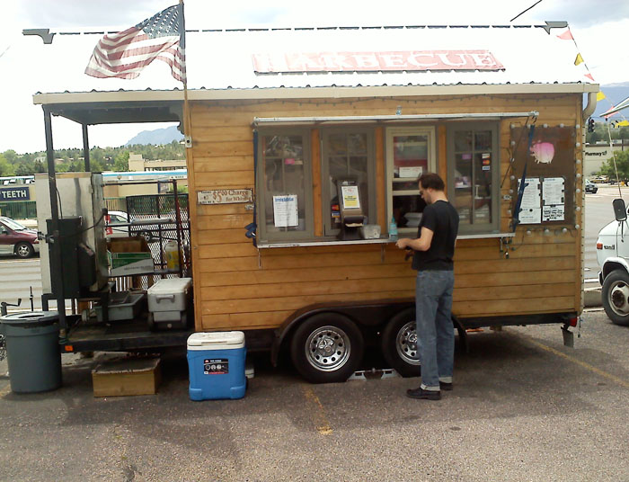 Phat Hatties BBQ truck, Union and Aacademy, Colorado Springs