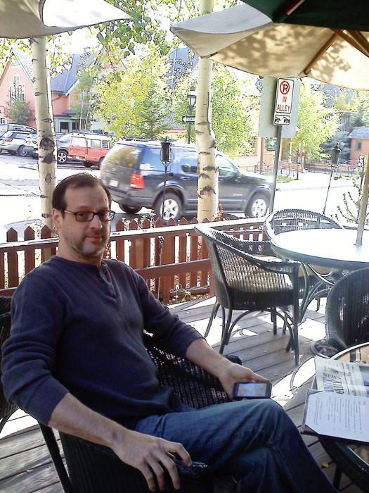 We also went to Breckenridge to look at fall leaves. We had drinks and snacks at Ember, which was really good.