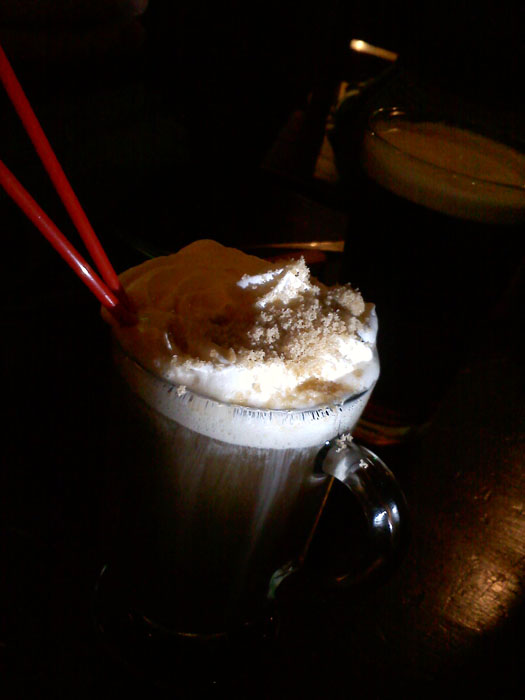 Irish Coffee at Jack Quinn's, Colorado Springs