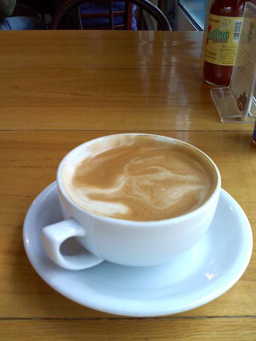 Cafe Mocha from Cafe Dawn, Salida, Colorado