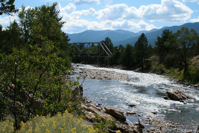 Railroad Bridge Campground, Arkansas Headwaters Recreation Area, Colorado