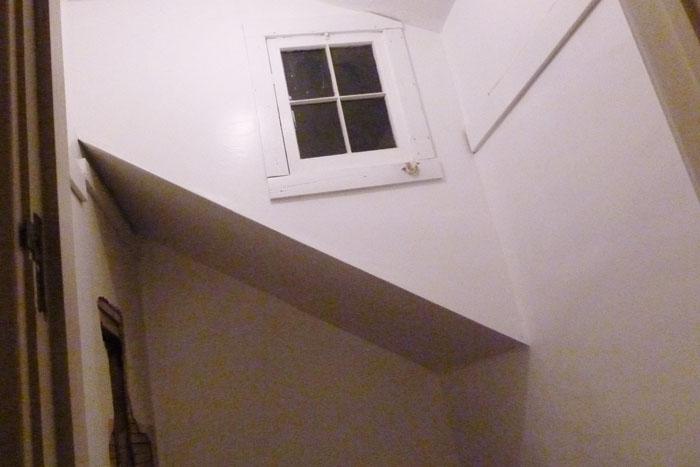 Drywall DIY inside closet
