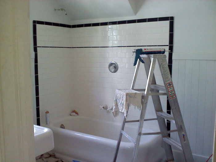 Bathroom renovation, Colorado Springs Craftsman