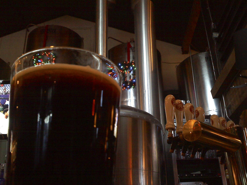 Vanilla Porter at Breckenridge Brewery, Colorado.