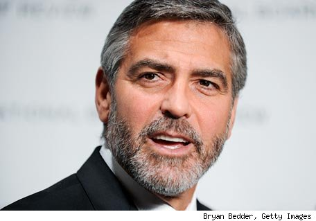 George Clooney had Bell's palsy