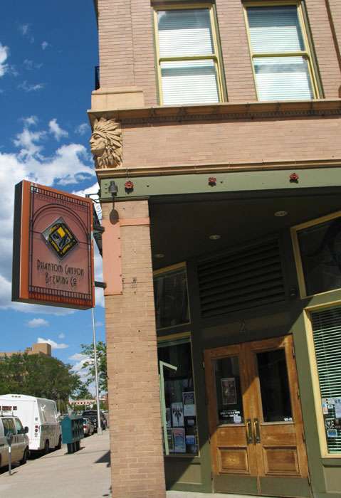 A brewpub whose building was saved from the wrecking ball by Governor Hickenlooper (way before he was governor), Phantom Canyon.