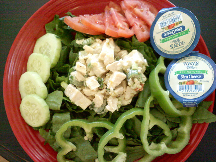 Chicken salad from Lofty's