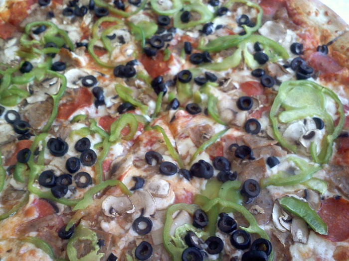 Veggie Pizza from Borriello Brothers