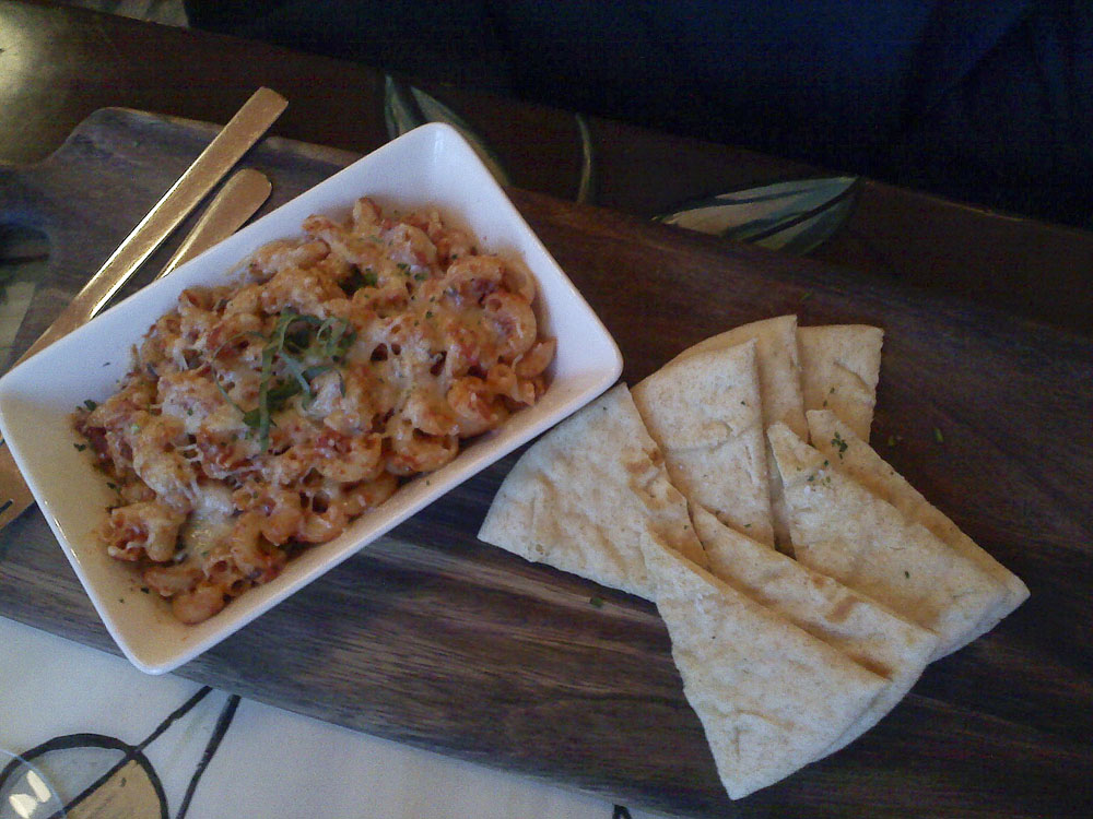 One of the daily pasta specials at Shuga's