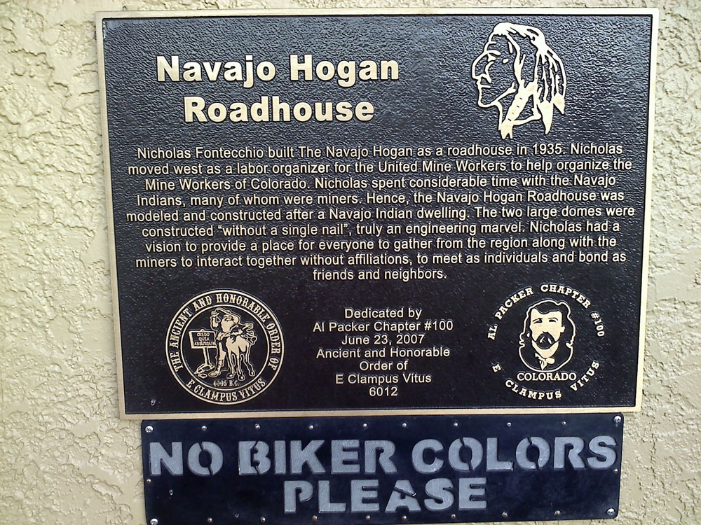 The Navajo Hogan is an historic building.