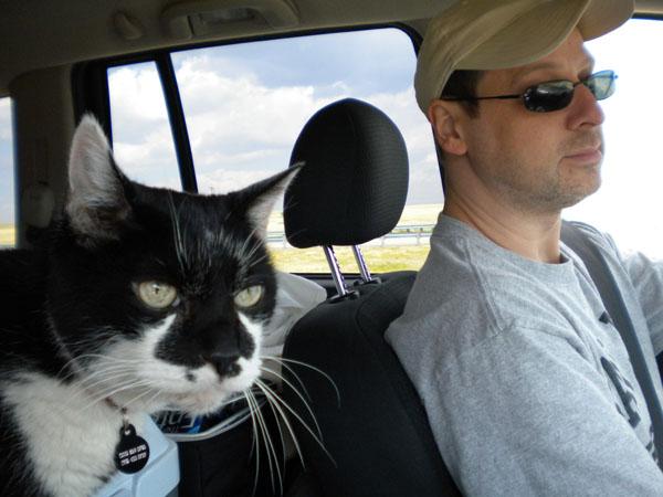 Road trip warrior PJ.