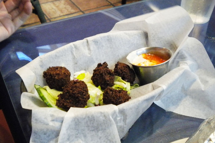 Falafel at Mediterranean Cafe