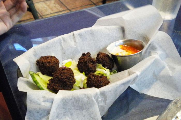 Falafel at Mediterranean Cafe