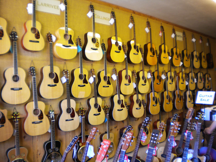 Tejon St. Music has been around a long time. Great place for all your guitar needs. Click this pic for their website.