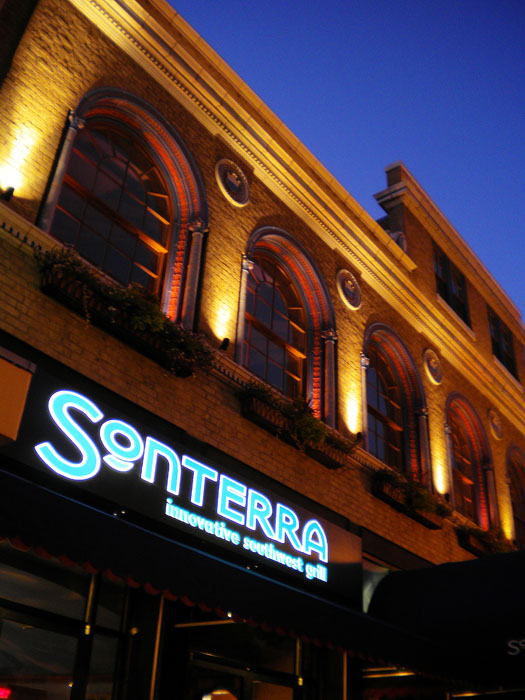 The very pretty Sonterra Grill