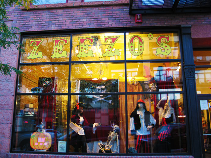 Zeezo's is the place for all things magic and costume. Click this pic for their website.