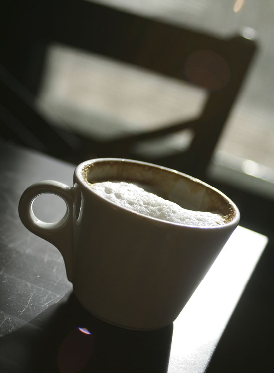 Let's end this post with a cappucino