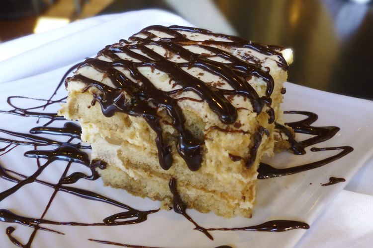 Excellent tiramisu- everyone's favorite!