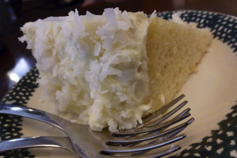 The most fabulous coconut cake- you have to try this cake