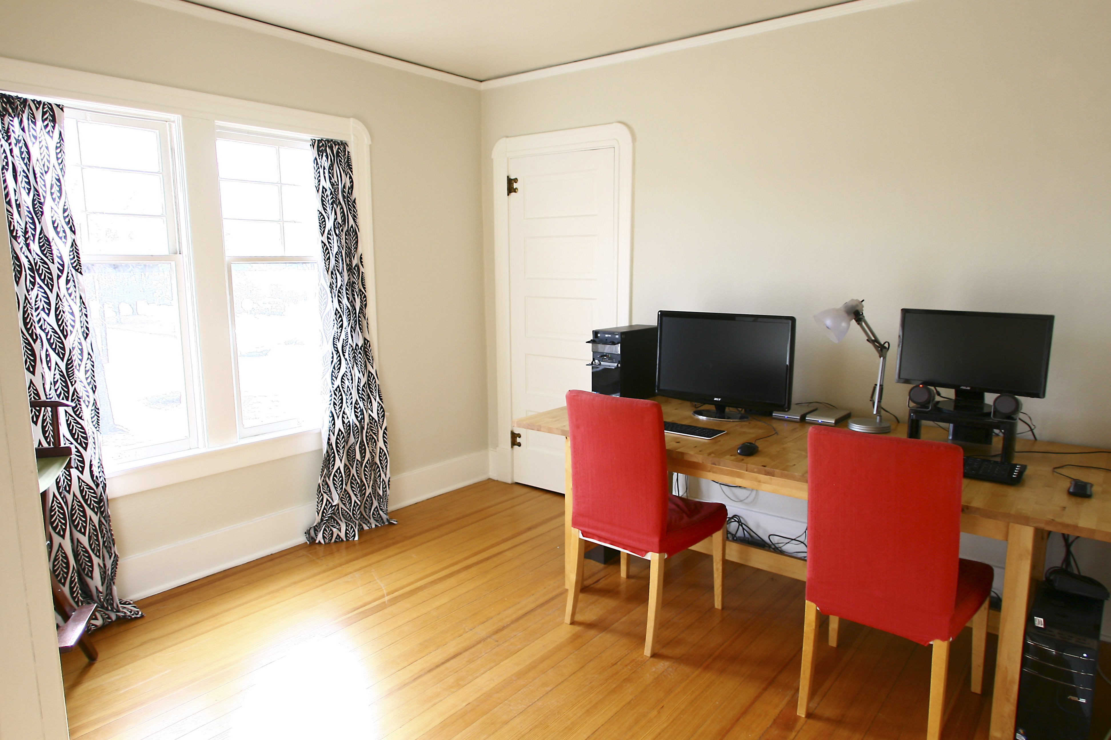 Spare bedroom office and dressing room swap and for Benjamin moore office