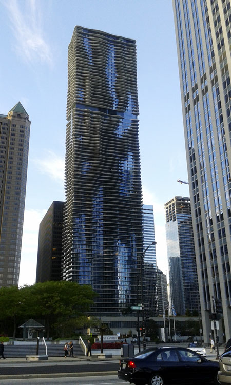 The Aqua, Chicago.