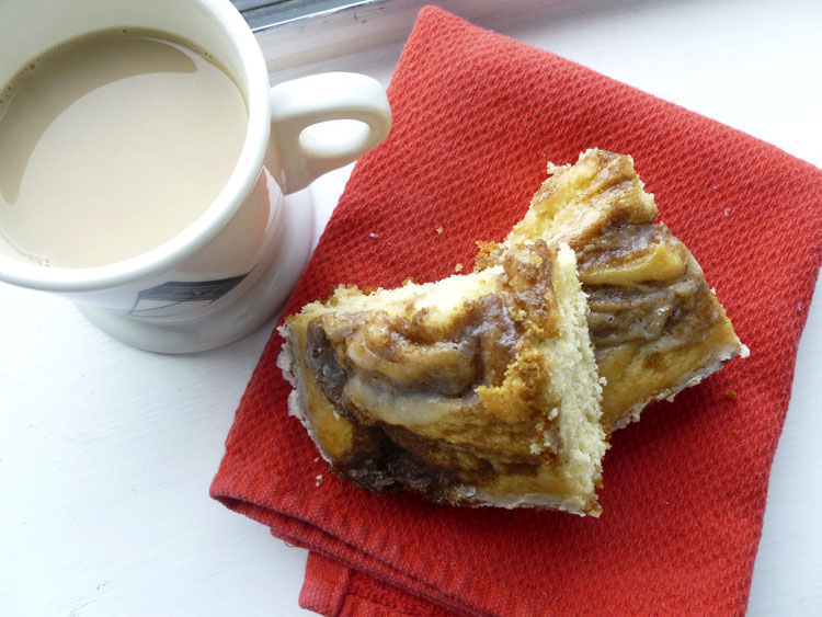 The best and easiest coffee cake in the world- cinnamon swirl coffee cake