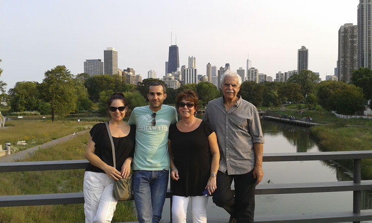 The fam in Lincoln Park