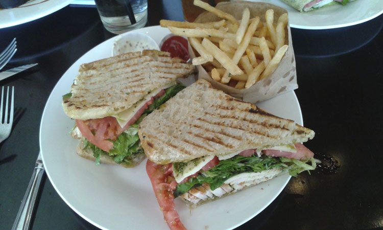 Scott Road panini from Recess in Glendale.