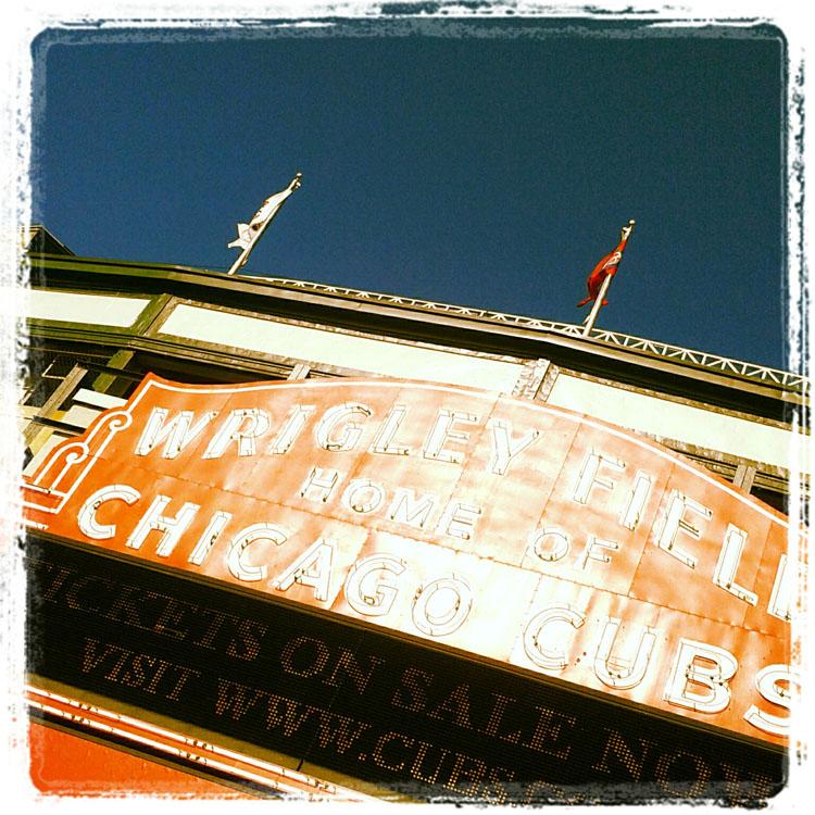 Wrigley Field Instagram.