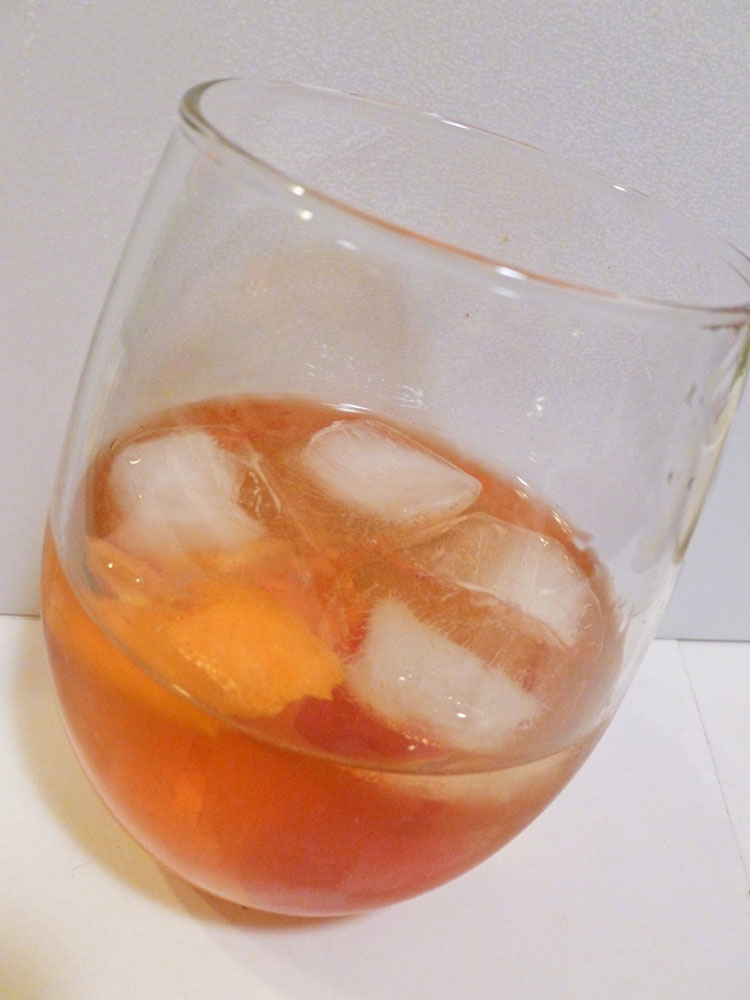 An everyday Old Fashioned from my house.
