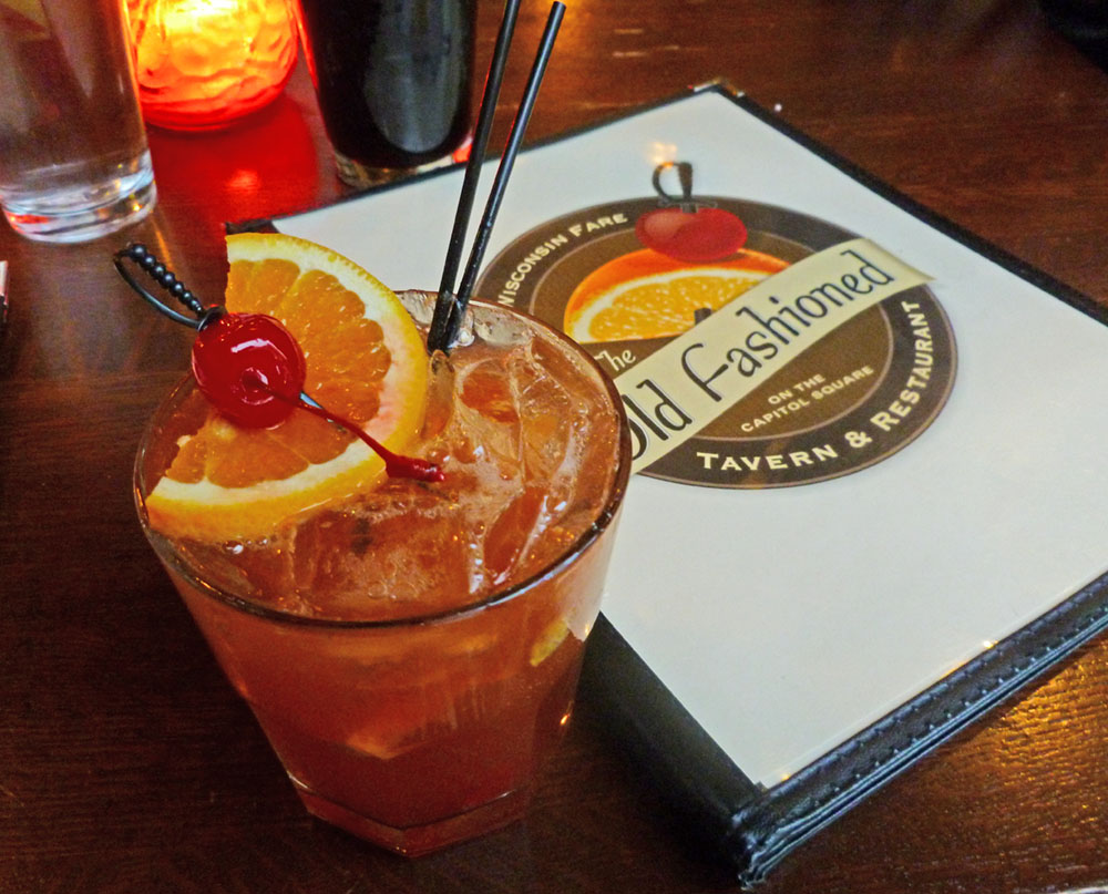 An Old Fashioned from The Old Fashioned in Madison, WI
