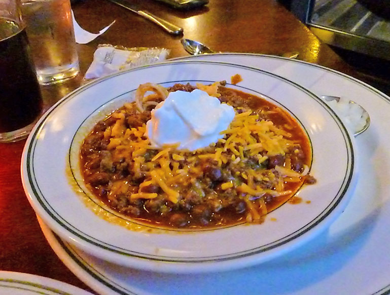 Is Wisconsin famous for chili?