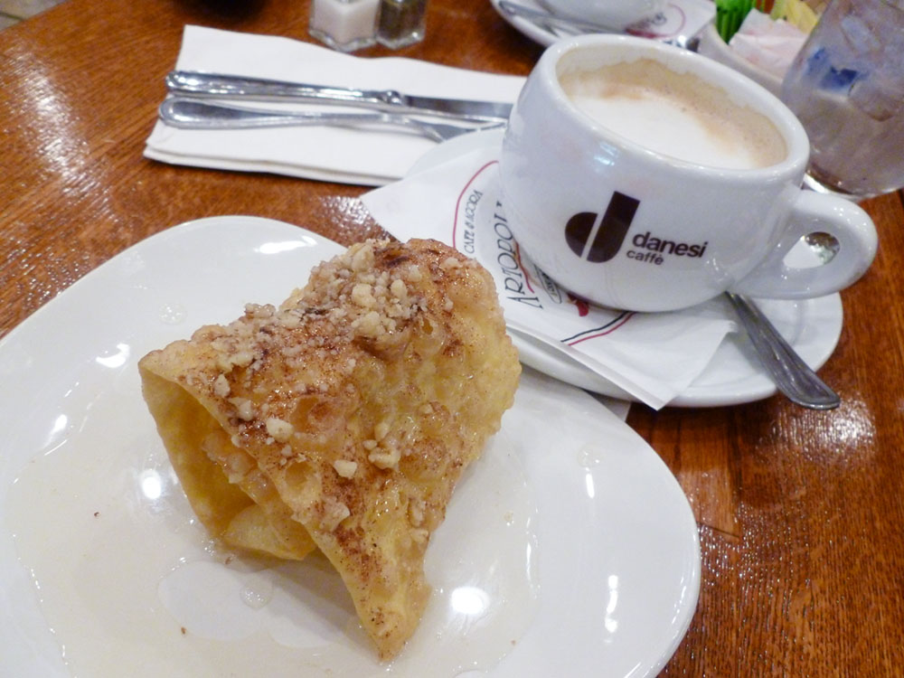 honey pastry in greektown at artopolis