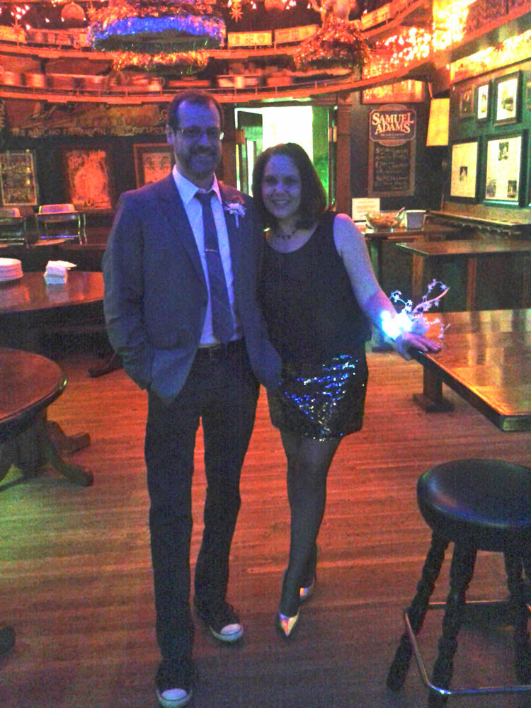 New Years Eve at Butch McGuire's in Chicago