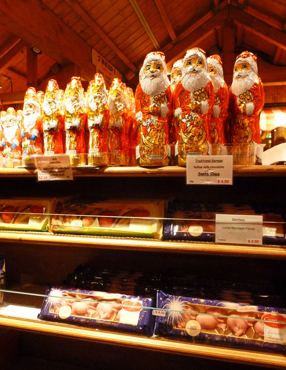 You can get fun international candies at the Christkindlmarket in Chicago